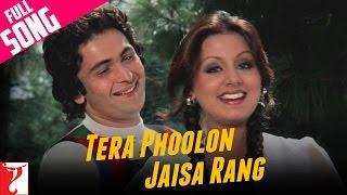 Tera Phoolon Jaisa Rang - Song - Kabhi Kabhie