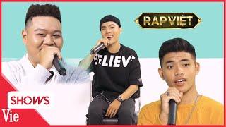 Dàn thí sinh mở màn RAP VIỆT nói gì sau phần thi bùng cháy trong tập 1   BTS Rap Việt