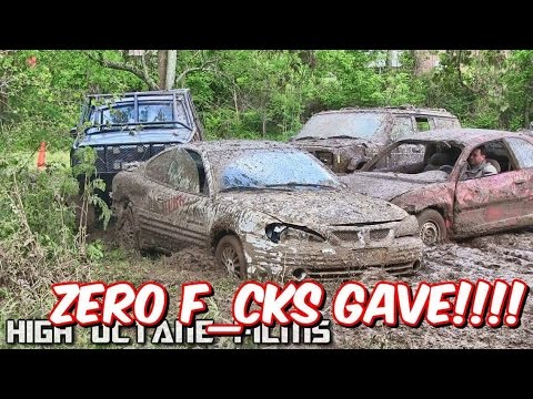 🙈 ZERO F💥CKS GAVE BACKYARD DEMOLITION DERBY RACE. (JUST FOR FUN)