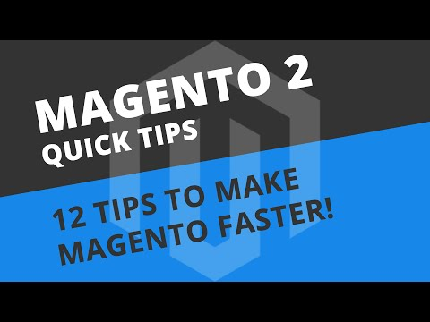 Why is Magento 2 so slow? 12 EASY Tips to make Magento 2 faster!