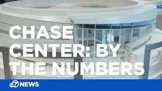 Chase Center: By the numbers