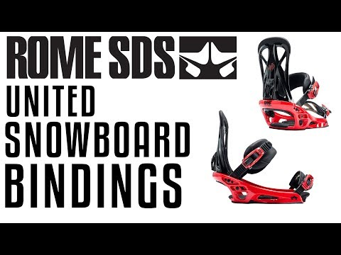 2018 Rome United Snowboard Bindings – Review – The-House.com