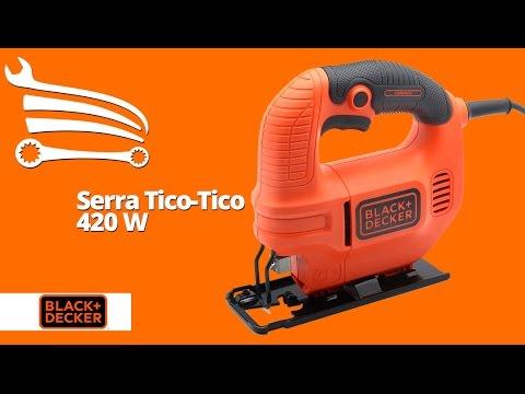 Serra Tico-Tico 420W  - Video