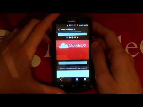 Recensione Huawei Ascend Y520 - Android Dual Sim - ITA - MobileOS.it