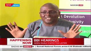 ELOG submits their proposals to BBI hearing committee