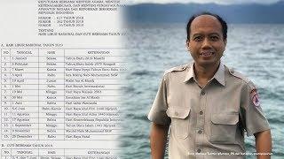 Terkait Libur Nasional 2019, Sutopo: Semoga Bencananya Libur Juga