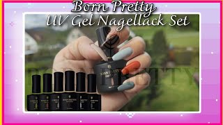 BORN PRETTY Shellac Nagellack  UNBOXING & TEST |PINAY IN GERMANY