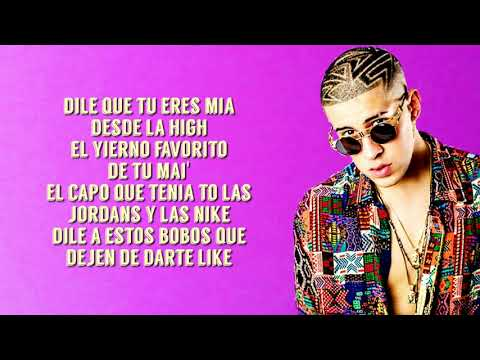 Bad Bunny Ft. Drake - MIA (Letra/Lyrics) 4k