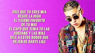 Bad Bunny Ft. Drake   MIA (LetraLyrics) 4k