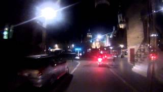 preview picture of video 'A Night Time Ride Through Veurne/Furnes in Belgium'