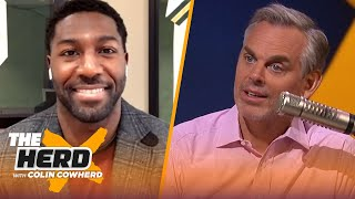 Greg Jennings on Julian Edelman's retirement, favorite WR prospect in the draft | NFL | THE HERD