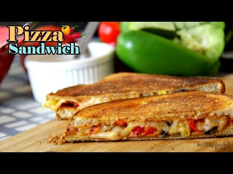 Pizza Sandwich Recipe | Easy Sandwich Recipes | Quick Breakfast Recipes\ kids Tiffin box ideas