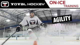 AGILITY: QUICK FEET // On-Ice Hockey Training