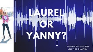 What Word Do You Hear? Yanny or Laurel