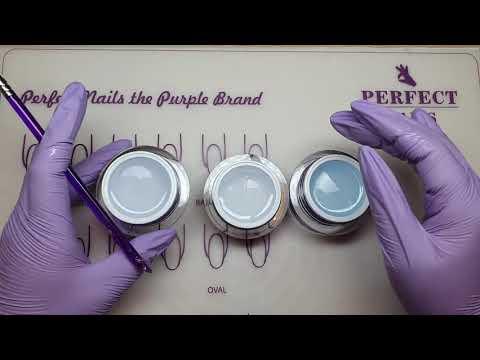 Crystal Clear, Active Clear és Ice Gel - Építő zselék bemutatása| Perfect Nails