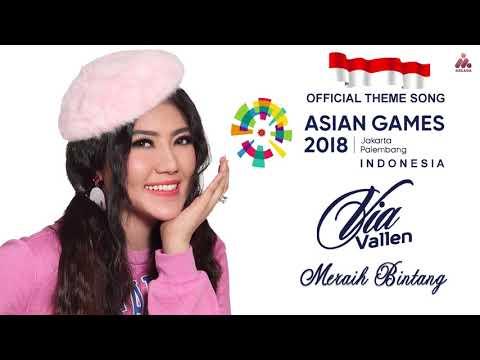 Via Vallen - Meraih Bintang - OFFICIAL SONG ASIAN GAMES 2018 (Official Audio)