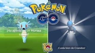 Horsea  - (Pokémon) - BUSCANDO EL HORSEA SHINY CON TROLEADA DE NIANTIC! [Pokémon GO-davidpetit]