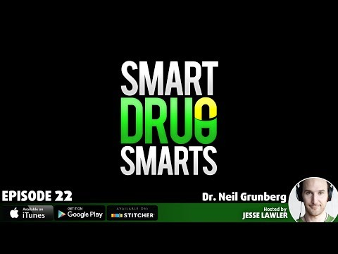 Episode 22 - Nicotine The Most Interesting Drug in the World