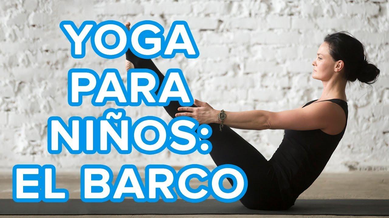 Yoga para niños | La postura del barco o Navasana ⚓
