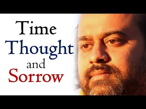 Time, thought, sorrow, and the ending of sorrow || Acharya Prashant, on J. Krishnamurti (2015)