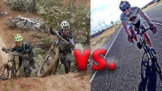 MTB против шоссейника! Какой ВИД велосипеда выбрать?