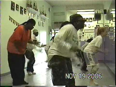 CrazyCee ME training students to be well rounded dancers..teaching Rhythmical Flow technique!!!