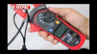 How to use a clamp meter?