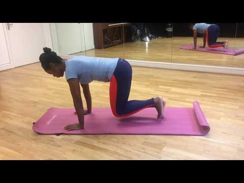Pilates beginner's guide leg pull prep
