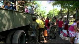 preview picture of video 'Albergados en Zacatecoluca regresan a casa con apoyo de la municipalidad'