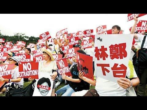 VIRAL.!Demo Hongkong No China Extradition