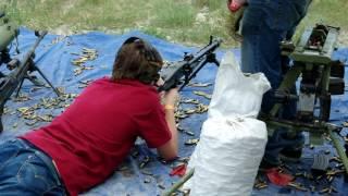MG 42 at the Rocky Mountain Machine Gun Shoot