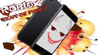 Roblox : ESCAPE THE I PHONE 7 เมื่อผมต้องผจญภัยหนี I Phone ???
