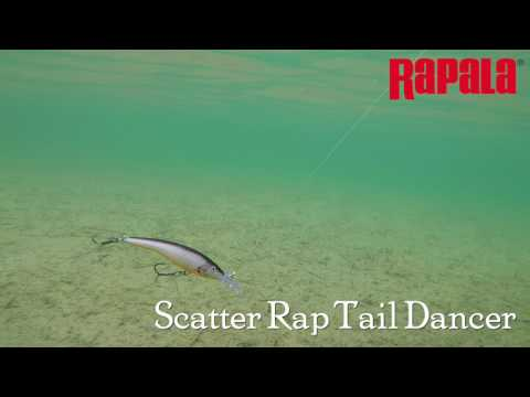 Воблер RAPALA SCATTER RAP TAIL DANCER SCRTD09-GTU фото №1
