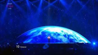 *Eurovision 2011* *Semi Final 1* *10 Finland* *Paradise Oskar* *Da Da Dam* 16:9 HQ