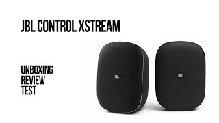 JBL Control Xstream - Unboxing, review, test