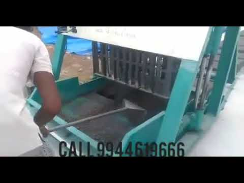 Hollow Bricks Making Machine Coimbatore