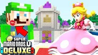Minecraft | Super Mario Series | Peachette KISSES Luigi! *LOVE?* [317]