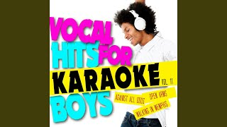 Open Arms (In the Style of Barry Manilow) (Karaoke Version)
