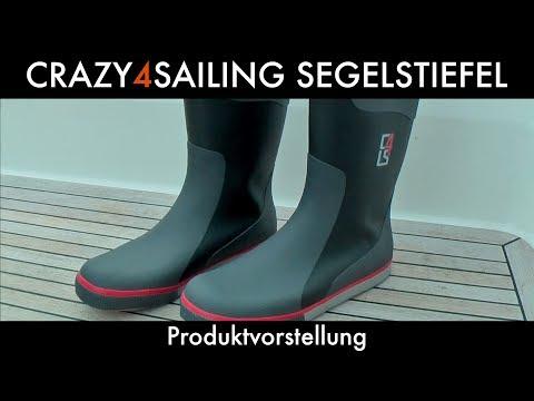 CRAZY4SAILING® Segelstiefel | Produktvorstellung