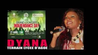 DYANA GRAND CONCERT INDEPENDANCE DAY 27 AVRIL TERRAIN LYCEE D\\\\\\\'AGOE