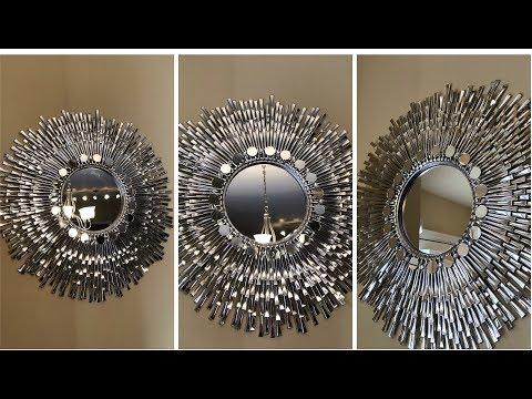 "Dollar Tree DIY – 💕 24"" Decorative Wall Mirror 💕"