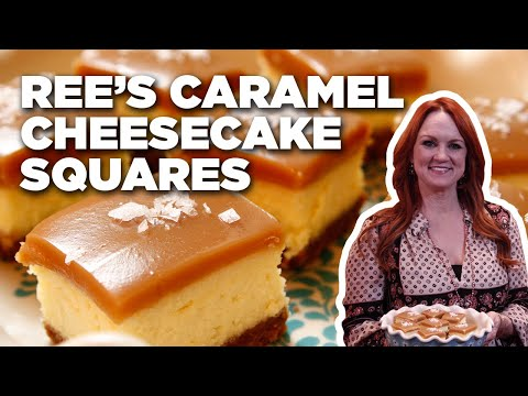 Ree's Salted Caramel Cheesecake Squares | Food Network