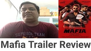 MAFIA CHAPTER 1 Trailer review by pmganesh | Tamil | Movies review by pmganesh