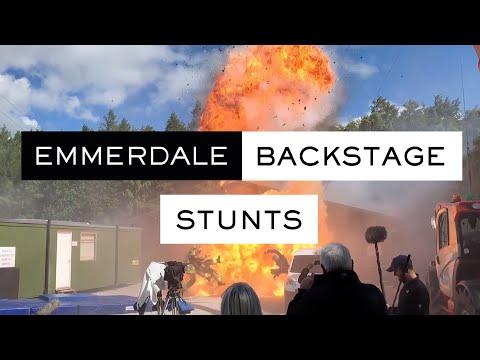 Emmerdale Backstage - Stunts Behind The Scenes