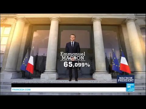 #France2017: Emmanuel Macron is elected president of France!