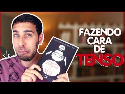 BONECO DE NEVE, DO JO NESBO, ME FEZ DE PALHAÇO 3 VEZES (sem spoiler) | Livraria em Casa