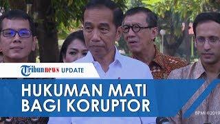 Presiden Jokowi Sebut Hukuman Mati bagi Koruptor Bisa Diterapkan di Indonesia, Ini Syaratnya
