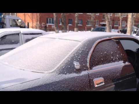 Фото к видео: Завожу дизельный Toyota Crown (Кроун) зимой в -26