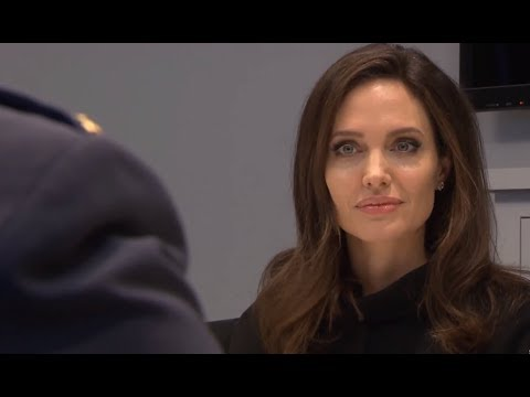 NATO Joins ANGELINA JOLIE To Defend Women Against Violence In War Zones.