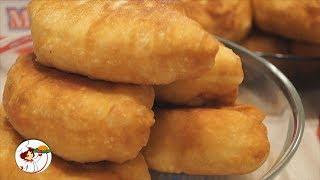 Жареные пирожки с картошкой. Просто объеденье!